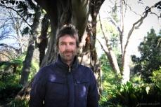 Poet Cameron Lowe in the Royal Botanic Garden Sydney